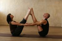 Голая йога у девушек